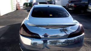 rose gold infiniti car chrome wrap infiniti g37 by expose yourself youtube