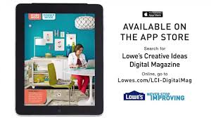 lowe u0027s creative ideas digital magazine youtube