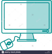blue silhouette shading computer desk stock photos u0026 blue