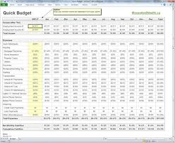 Excel Spreadsheet Budget Template Budget Template Excel Vnzgames