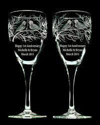 engraved anniversary gifts vancouver engraving and anniversary gifts glasses vases candle