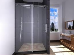 Shower Doors Prices Frameless Sliding Shower Doors At Home Depot Door Stair