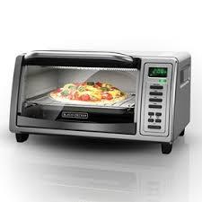 B D 4 Slice Toaster Oven 4 Slice Digital Toaster Oven Black Decker