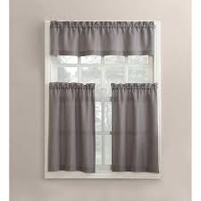 awesome gray kitchen curtains also redoubtable grey and white