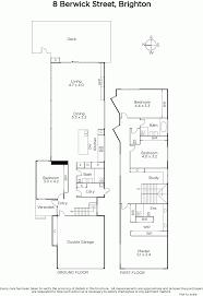 brighton floor plans 8 berwick street brighton vic 3186 sold realestateview