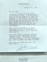joan crawford letters 1960 to 1962