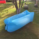 canapé gonflable piscine chaise longue gonflable canapé chaise longue de plage avec sac de