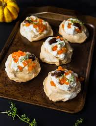 halloween mini butternut squash pavlovas viva la food recipe