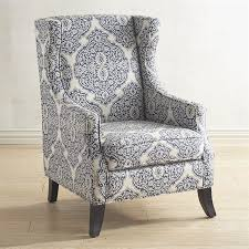 Striped Accent Chair Navy And White Accent Chair Alleyesonscreen Me
