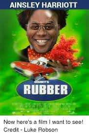 Ainsley Harriott Memes - ainsley harriott tisneys rubber now here s a film i want to see
