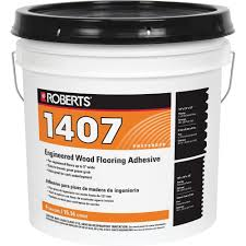 roberts 4 gal engineered wood flooring glue adhesive 1407 4 the