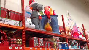 Home Depot Outdoor Christmas Decorations by Home Depot Christmas 2015 Youtube