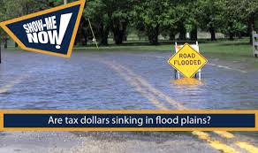 show now are tax dollars sinking in flood plains show