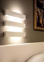 indoor wall lamp ip20 for direct or indirect lighting made of