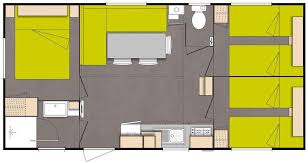 mobil home o hara 3 chambres mobil home o hara 6 pers 30 m cing puy du fou cing