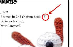 what does pattern mean what does the number in parentheses mean in a crochet pattern