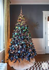 Christmas Tree With Blue Decorations - christmas tree blue ornaments rainforest islands ferry