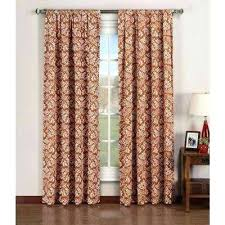 Rust Color Curtains Interesting Rust Color Curtains Burbankinnandsuitescom Interesting