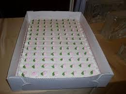 wedding sheet cake bonnie belles pastries wedding cakes pink and green sheet cake