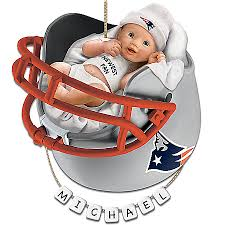 new patriots personalized baby s ornament