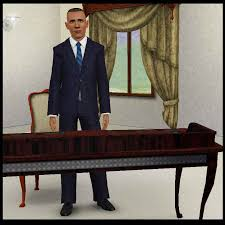 obama at desk mod the sims leader of the free world