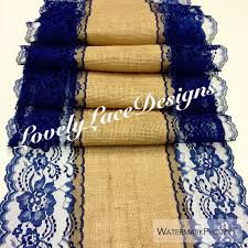 Navy Blue Lace Table Runner Navy Blue Wedding Decorations Best Decoration Ideas For You