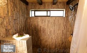 bathroom makeover ideas creative faux panels