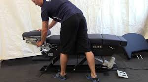 elite chiropractic tables replacement parts elite electric elevation hybrid model youtube
