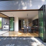 Folding Doors Patio Enclosed Outdoor Patio Ideas Dining Room Contemporary With Patio