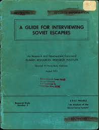 deceptive subjects reading the harvard project on the soviet