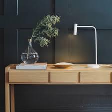 eclairage bureau led eclairage bureau led le enna h45 cm blanc bureaus