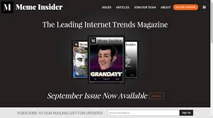 Meme Insider - currently unavailable the kind of meandering consciousness of
