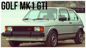 vintage volkswagen rabbit 1975 1984 volkswagen golf mk1 gti youtube
