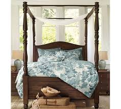 Poster Bed Canopy Cortona Canopy Bed Pottery Barn