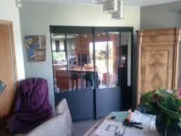 verriere coulissante pour cuisine cloison et porte coulissante sur mesure le kiosque aménagement