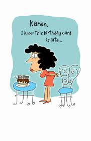 better late than never greeting card belated birthday printable