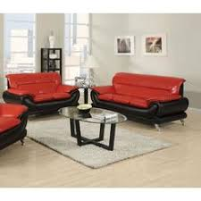 Set Sofa Modern Tosh Furniture Modern Leather Black And Sofa Set