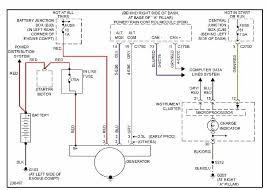 2001 ford focus alternator wiring diagram wiring diagram and
