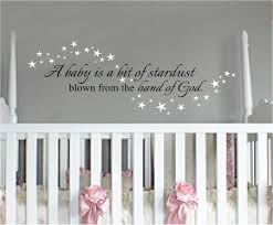 nursery wall quotes a baby fills your creative crafts