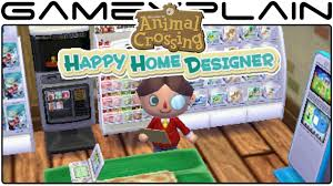 new nintendo items in animal crossing happy home designer youtube