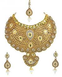 new gold wedding necklace images Necklace set golden wedding necklace set simaaya fashions jpg