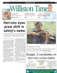 williston times 05 12 17 by the island now issuu