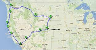 road map northwest usa in america filming locations for tv and in the pnaa