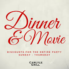 dinner gift cards dinner carlyle grill