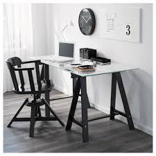 Trestle Computer Desk Oddvald Trestle Ikea