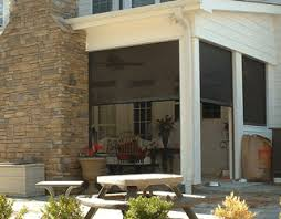 Retractable Awning With Screen Retractable Awnings U0026 Screens Armorguard Exteriors