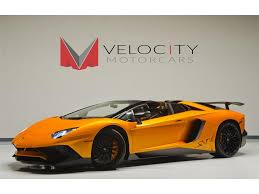 used lamborghini prices 2016 lamborghini aventador lp 750 4 sv roadster for sale in