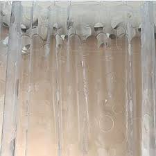 Transparent Shower Curtain Amazonsmile Maytex Ice Circles Peva Shower Curtain Clear Peva
