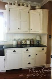 Kitchen Beadboard Backsplash by Kitchen Cabinet Construction Kitchen Cabinets