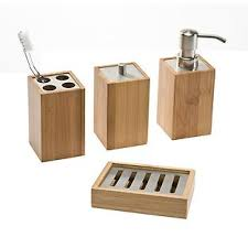 Bathroom Accessories Stores Bamboo Bathroom Accessories The Container Store